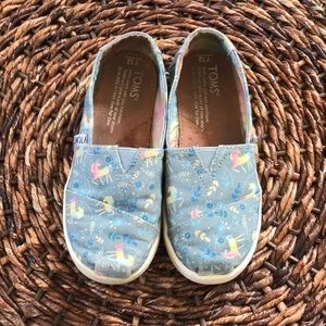 Unicorn Girl Toms